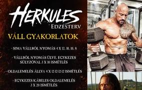 Herkules edzésterv - The Rock Dwayne Johnson