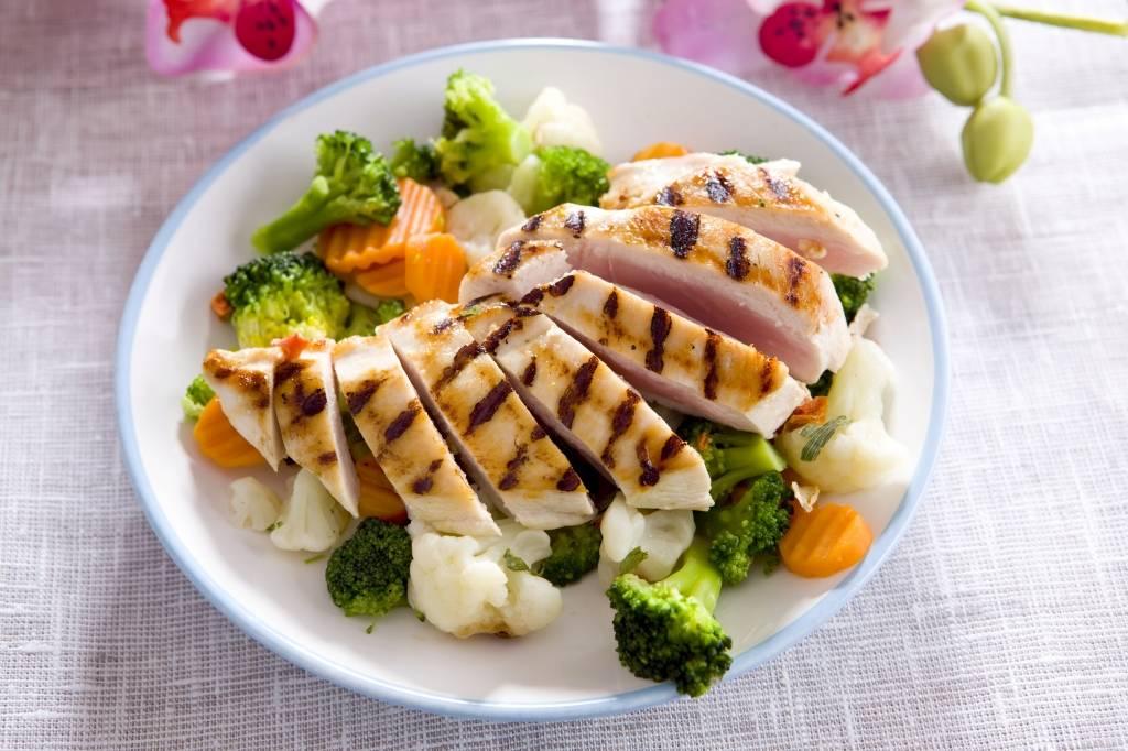 hány gramm fehérjét tartalmaz a csirkemell