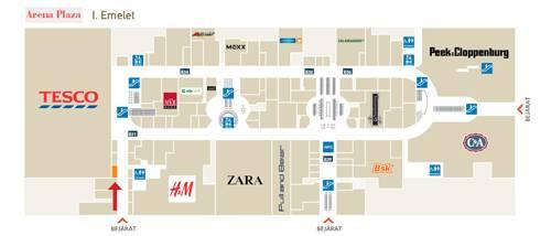 aréna pláza térkép Budapest   Arena Plaza   BioTechUSA Shop aréna pláza térkép