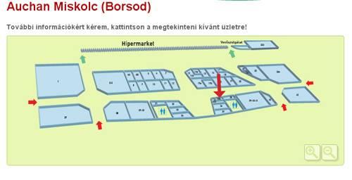 auchan térkép Miskolc   Auchan   BioTechUSA Shop auchan térkép