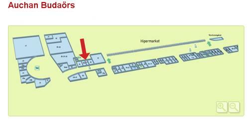 auchan térkép Budaörs   Auchan   BioTechUSA Shop auchan térkép
