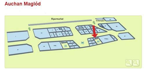 auchan térkép Maglód   Auchan   BioTechUSA Shop auchan térkép